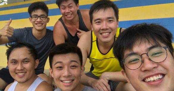 Keng Thong, Darius, John, Jasper, Jun Ann & Terrence