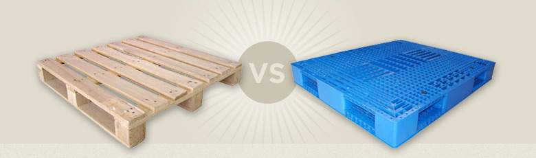 Plastic pallets vs. Wood pallets: Which is Better?