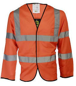 Accolade Safety AccSafe Safety Vest Long Sleeve High Visibility