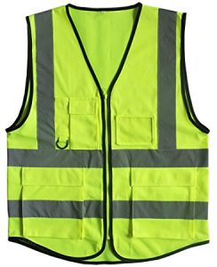 Accolade Safety AccSafe Safety Vest with Front Pocket