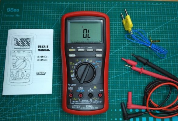 Brymen bm869s digital multimeter