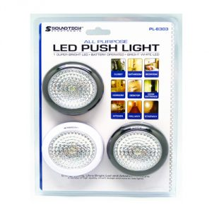Soundteoh LED Push Light PL-8303