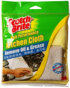 Eezee 3M Scotch Brite Kitchen Cloth T109C Spring Cleaning