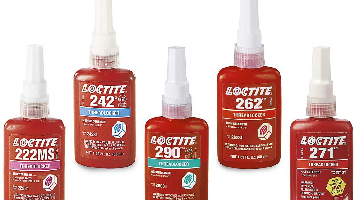 What's the Difference between Colors of Loctite Threadlockers?